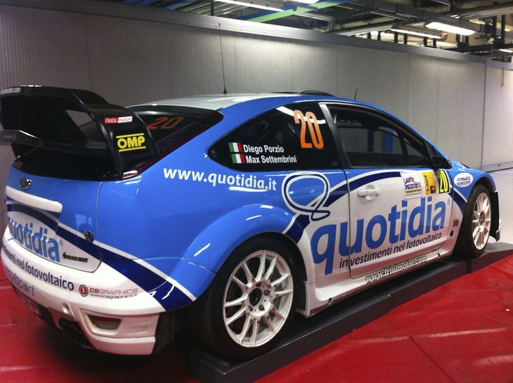 Ford Focus WRC Monza Rally Show 2012