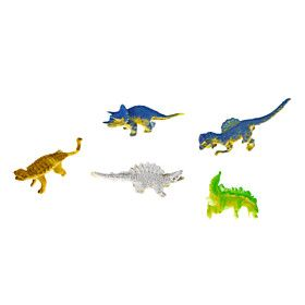 5 Pieces Dinosaur Shaped Growing Toy
