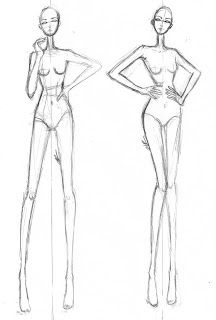 Croqui de moda | Garota Metida