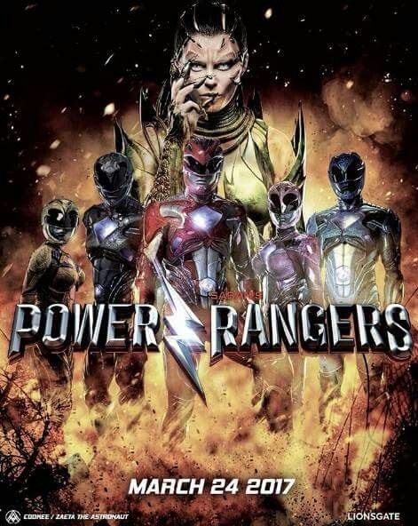 In this new version of power rangers we see a more adult theme to the movie