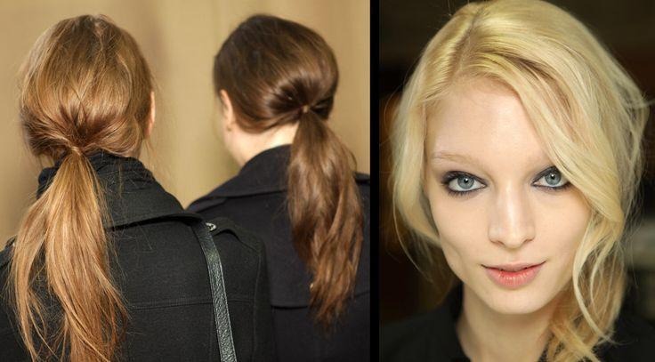 tomboy ponytail
