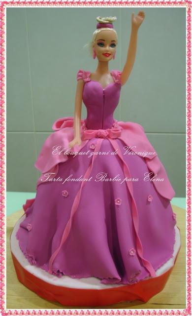 El bouquet garni de Véronique, tarta barbie