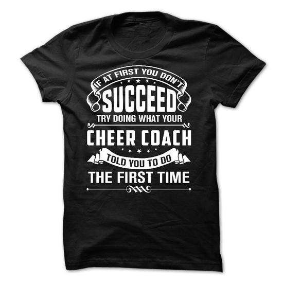 Cheer coach knows best.