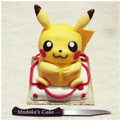 Pikachu mini cake