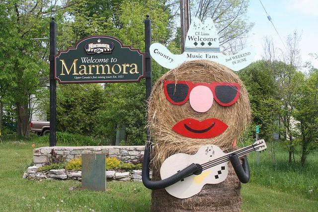 Welcome to Marmora, Ontario