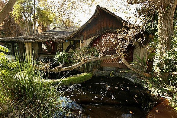 Pictured here is the Hobbit House in Culver City.