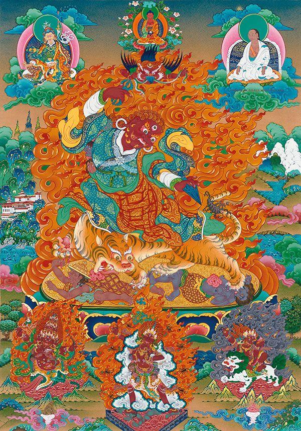 Dorje Drolo according to Adzom Drugpa's terma and transmission of Chogyal Namkhai Norbu.