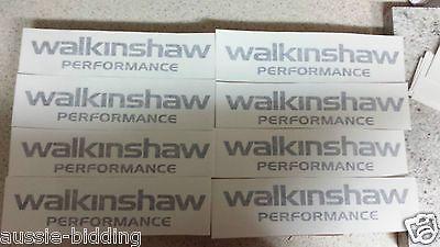 "HSV VE Walkinshaw Engine Cover Sticker V8 ""Brand New"" Black  FREE DELIVERY"