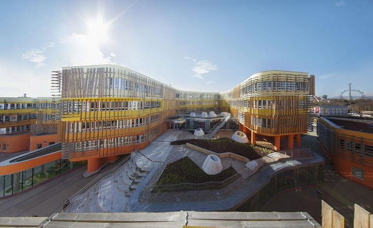 The Vienna University of Economics and Business university (or Wirtschaftsuniversität Wien) has just welcomed a new addition to its star-studded campus, which already features buildings by Zaha Hadid, Hitoshi Abe and Carme Pinos, and a masterplan by BU...