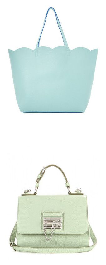 """""""✿⌣ Bags ⌢✿"""" by prisana1987 ❤ liked on Polyvore featuring bags, handbags, tote bags, aqua, tote purses, green tote bag, deux lux tote, green tote, vegan tote and shoulder bags"""