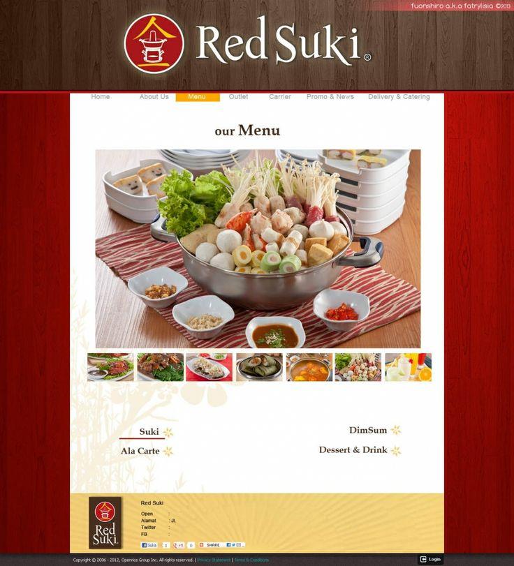 Web Design | Red Suki | Kreavi.com