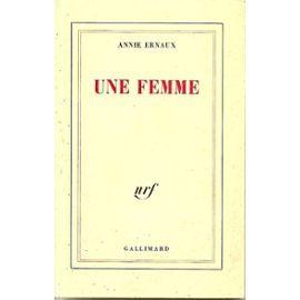 Une Femme de Annie Ernaux