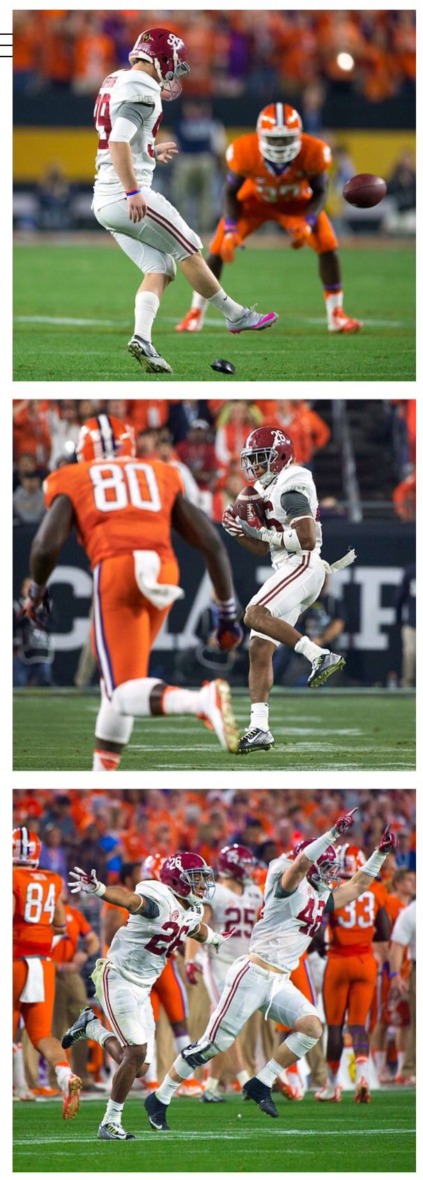 The On-side Kick! Alabama takes control of the National Championship with a 4th…