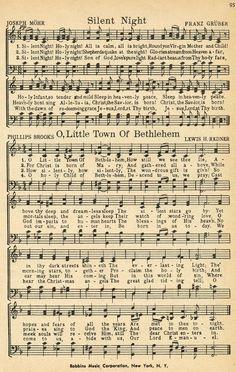 victorian christmas carols sheet music - Google Search