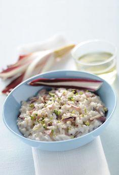 Risotto al radicchio rosso con robiola e pistacchi - Tutte le ricette dalla A alla Z - Cucina Naturale - Ricette, Menu, Diete