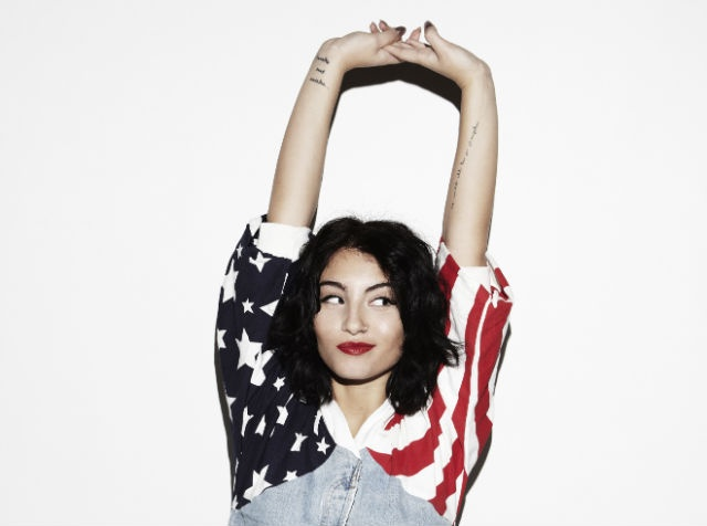 Yasmin. I'm watching her closely right now. Check out her cover of 'American Wedding' (originally by Frank Ocean)