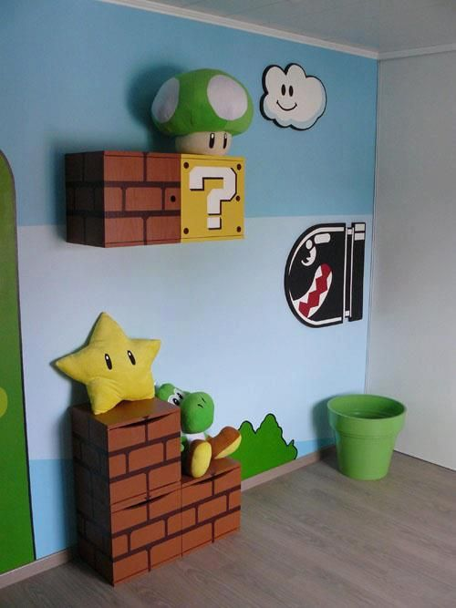 I ca not really handle this awesomeness  super mario playroom for kids. 46 best Boys  Mario Themed Bedroom images on Pinterest