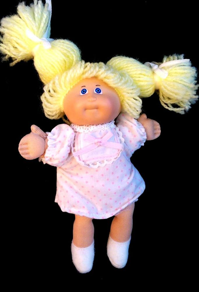 Vintage Coleco 1984 Cabbage Patch Kids Playmate Blond Mini Doll Pink Outfit 5 5 Dolls That I Like Cabbage Patch Kids Cabbage Patch Outfits