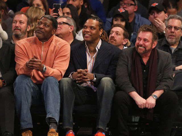 Adam Silver, Michael Jordan help mend Charles Oakley, James Dolan feud