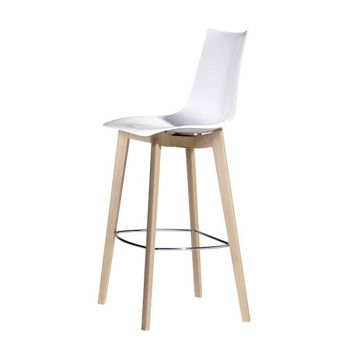 NATURAL ZEBRA ANTISHOCK stool - SCAB Design