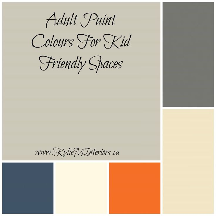 adult friendly paint colours for kid friendly rooms and spaces