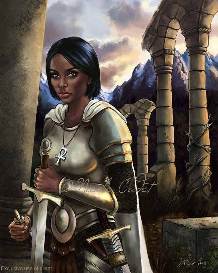 Gods And Warriors Books In Order: 53 Best Nicole Cadet Book & Gaming Character Portraits