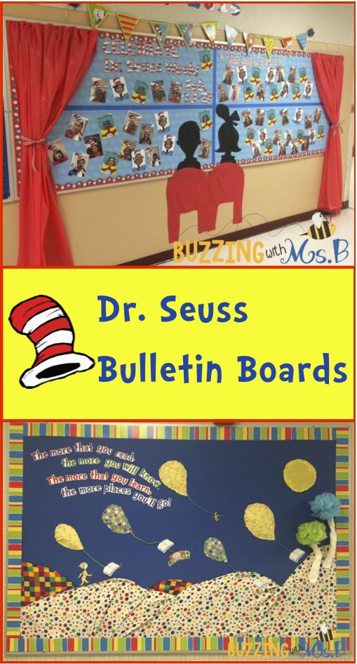 Dr. Seuss Week is coming: Seuss-inspired bulletin boards!