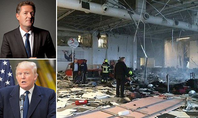 PIERS MORGAN: When it comes to terror, isn't it time we started listening seriously to Trump?   Read more: