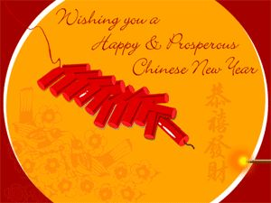 Wish you happy chinese new year