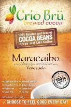 Maracaibo - Crio Bru Australia Pty Ltd  The Crio Crew's personal fave!