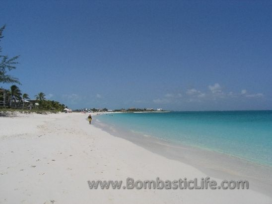One of the most beautiful beaches in the world - Turks and Caicos