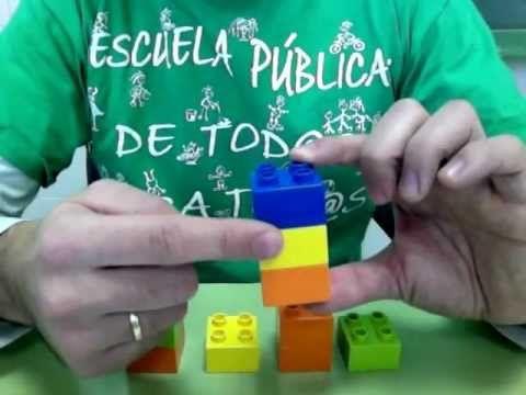 Múltiplos y divisores con piezas de Lego
