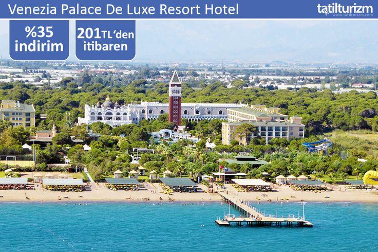 Ferah odalarında konforun tadına varacağınız Venezia Palace De Luxe Resort Hotel'de yerinizi ayırtarak, avantajlı fırsatlarından yararlanabilirsiniz.