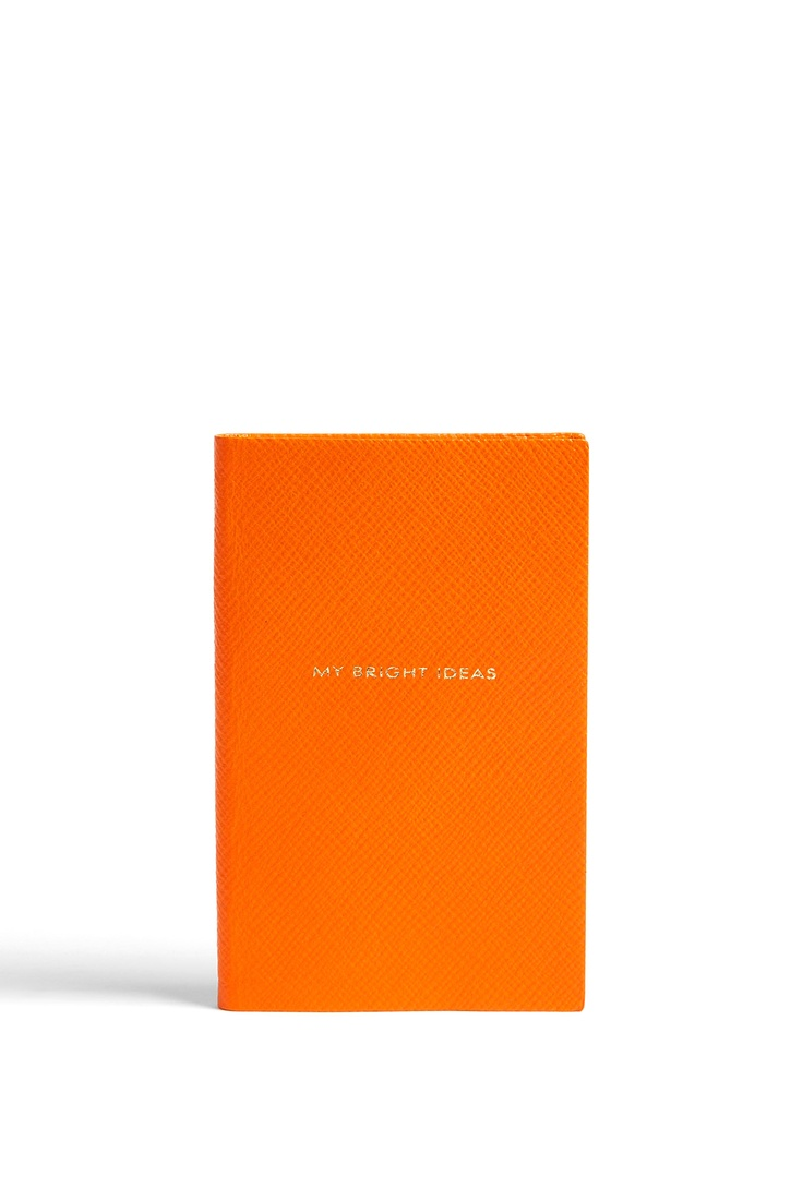 Exclusive 'My Bright Ideas' Notebook by Smythson