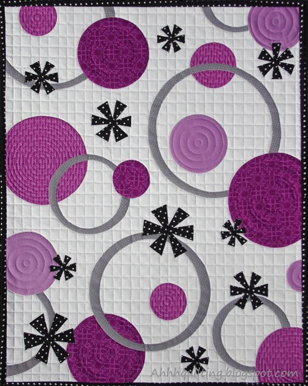 easy circle quilts | Quilting: Circles and Rings Baby Quilt Pattern