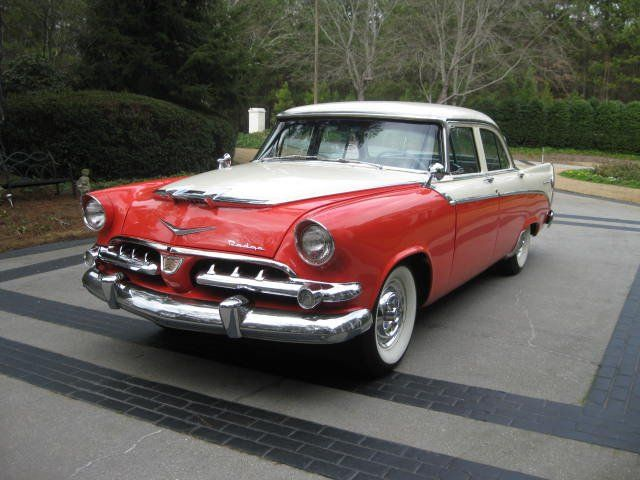 1956 dodge custom royal super red ram re pin brought to for 1956 dodge custom royal 4 door