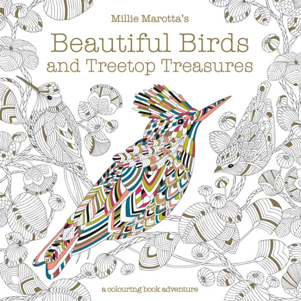 beautiful birds and treetop treasures coloring book review - Where To Buy Coloring Books
