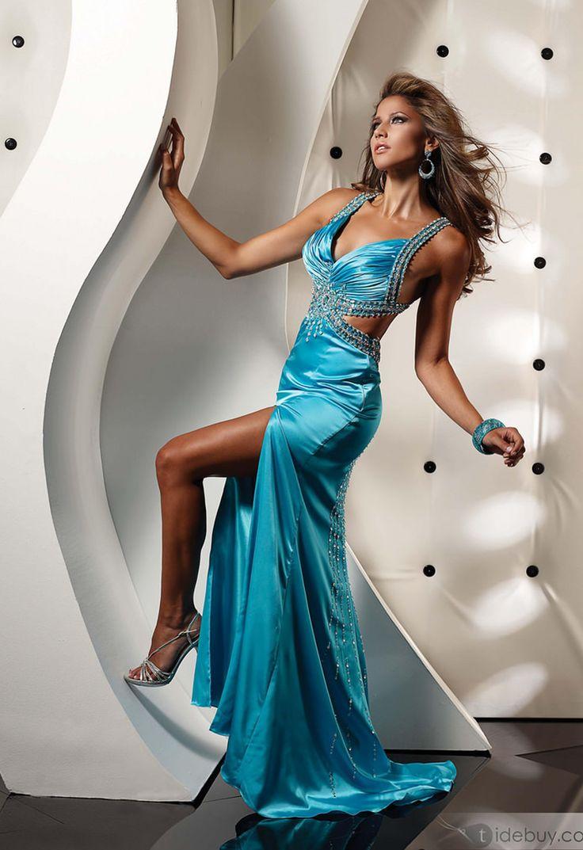 503 best Satin Party Dress 3 images on Pinterest | Party dress ...