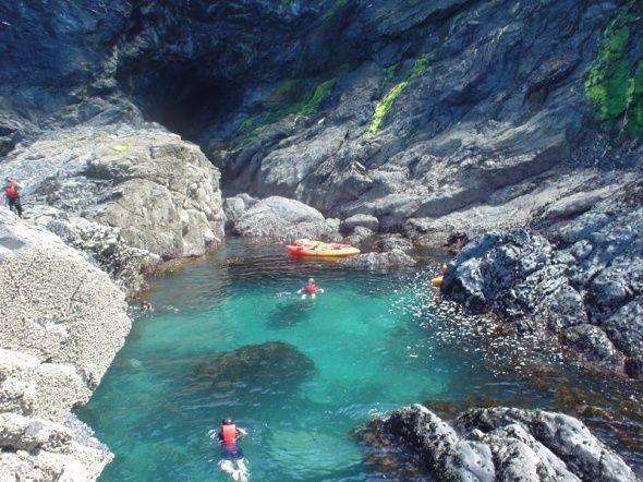 Wild swimming in Cornwall