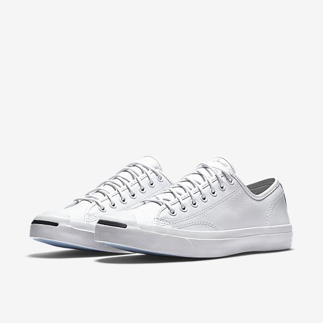 White Leather Jack Purcell converse