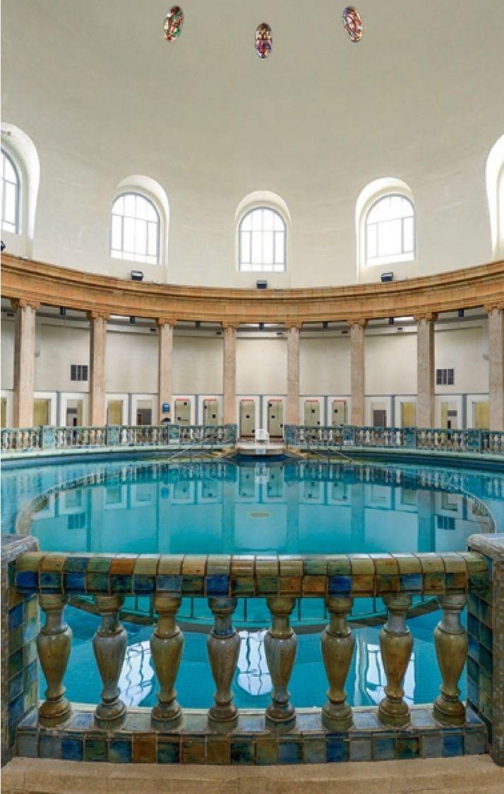 29 best les plus belles piscines de france images on - Nancy thermal piscine ronde ...