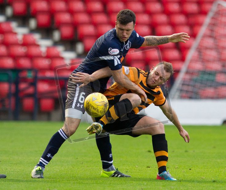 Queen's Park's Adam Cummins in action during the Ladbrokes League One game between Queen's Park and Alloa Athletic.