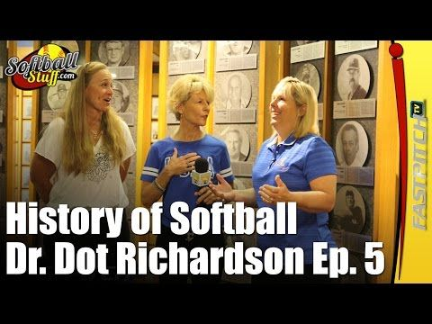 Welcome to part 5 in the video series on the History of Softball with Dr. Dot Richardson. On todays show Dot takes a tour of the softball hall of famers with Sue Enquist. Joined by specials guest Sheila Cornell-Douty, they remember the greatest players and coaches of softball history.  A special thanks to Alison Strange for all her help and advice on this project. And The National Softball Hall Of Fame in Oklahoma City, OK.  Sponsored by http://SportsJunk.com/