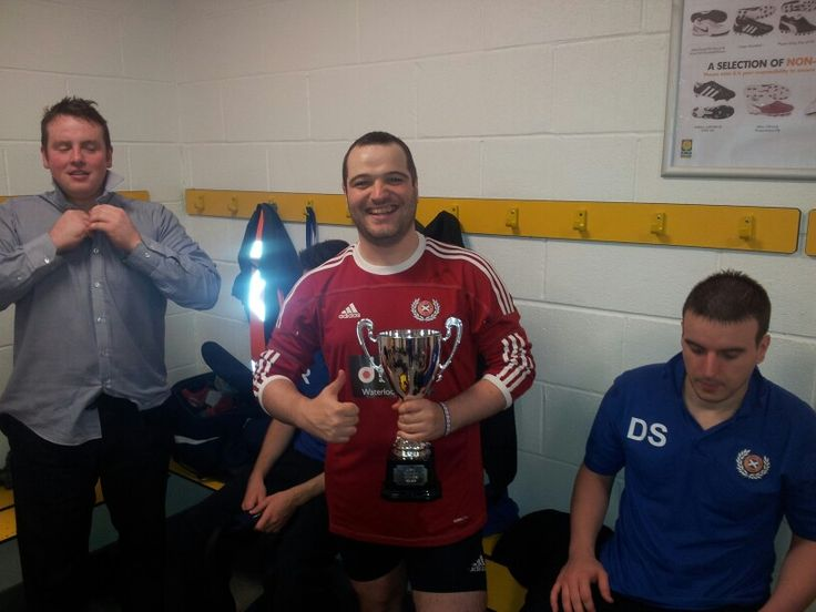 Winning the cup