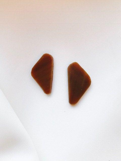 Handgemaakte exclusieve oorbellen gemaakt van Tiffany glas door BeautifullSieraden op Etsy