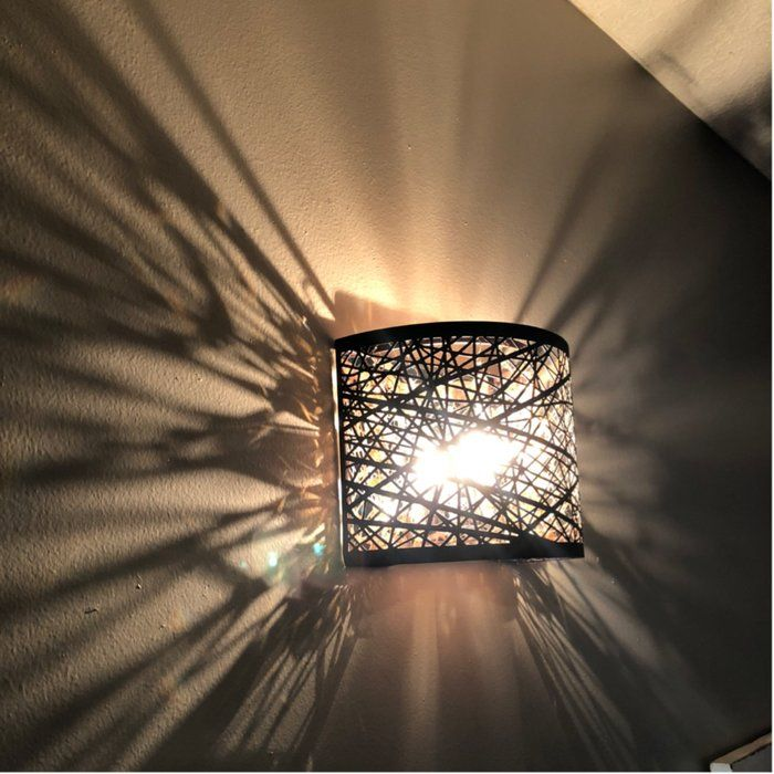 Mica 1 Light Wall Sconce Reviews Allmodern Sconces Wall Sconces Wall Sconce Lighting