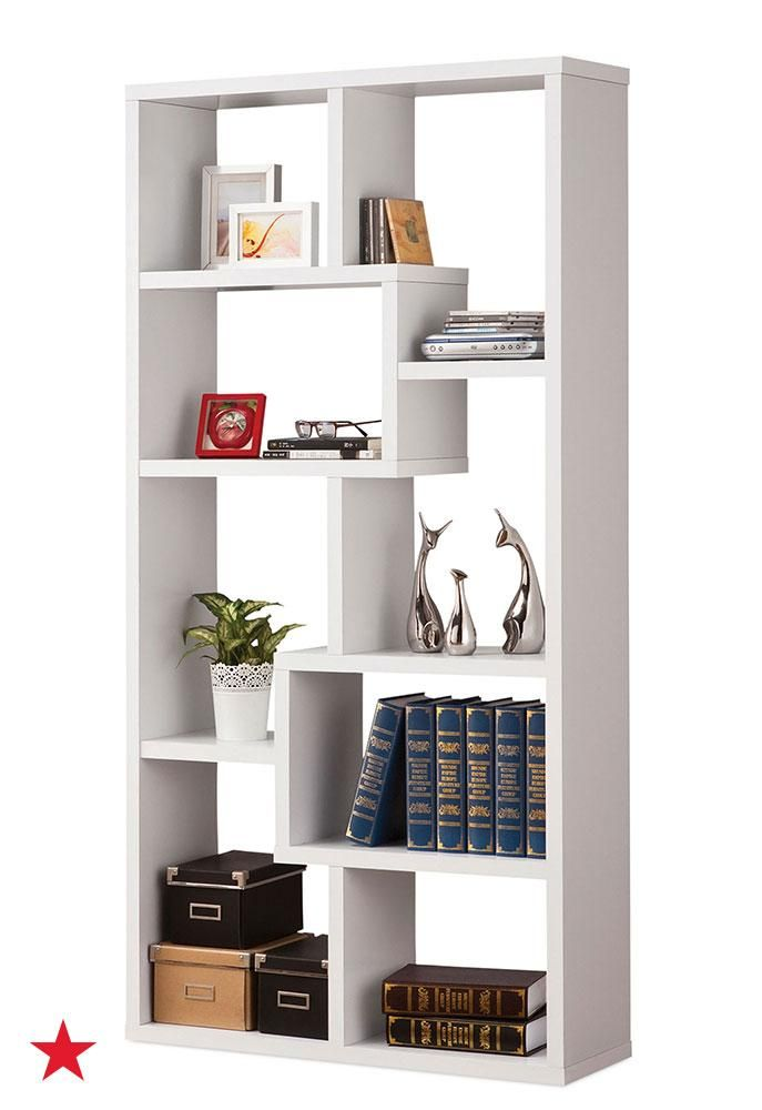 Give Your Knick Knacks, Books And Collectables A New Home With A Chic,  Geometric