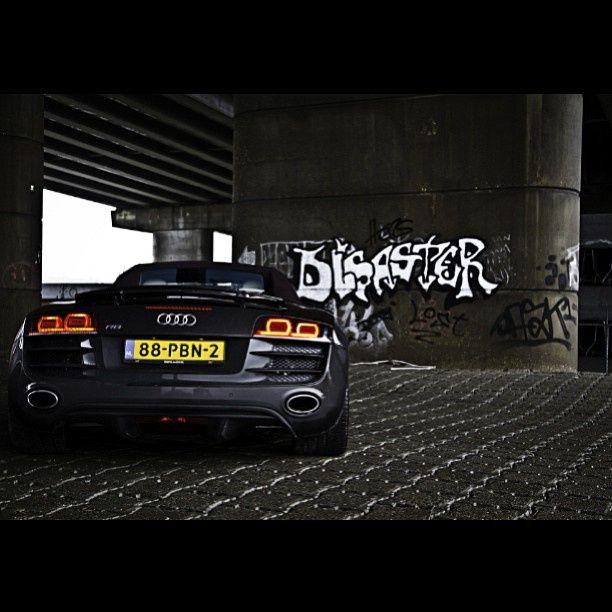 "BOOM! One sexy ""ass"" R8 #Audi"