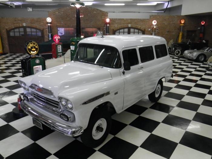 1959 Chevrolet Suburban NAPCO