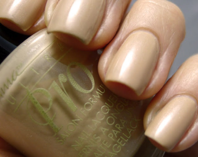 The Nail Buff: Nina Ultra Pro ~ Cafe Latte, with an Edge